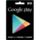 Tarjeta De Recarga $10 Usd Para Google Play Store