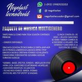 Paquete De Musica De Todo Genero 32gb 6700 Canciones Premium