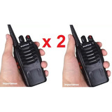 Paq 2 Radios Baofeng 5w = Motorola Bf88 Uhf400-470mhz