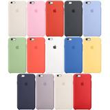 A Estuche Silicone Case Original iPhone Xr Xs Max 5 6 7 8 X