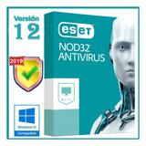 Eset Antivirus Nod32   Licencia Para 5 Pcs, 1 Año