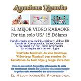 Karaoke Profesional Miles De Canciones En Videos Hd On Line