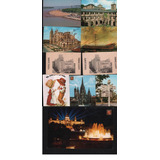 Postales Lote X10 Arquitectura Paisajes Diferentes Paises