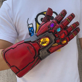 Guantelete Led Iron Man Thanos Avengers Endgame Látex