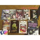 Gravity Falls Colección 8 Libros + Diario 3 + Poster Gratis
