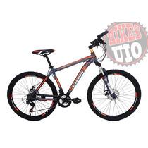 Bicicleta Aro 26 Frenos De Disco 21 Vel Shimano 2019