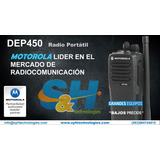 Motorola Dep450 Nuevas!!!  Vhf O Uhf   Incluye Impuestos