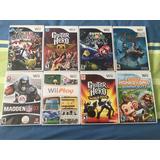 9 Juegos Originales De Wii