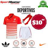 Uniformes Deportivos Completo De Calidad $10,99 Oferta Unica