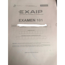 Modelo De Examen Prueba Exaip (senescyt) Postgrado