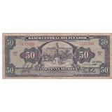 Banco Central! 50 Sucres 2 Abril 1957 Serie Tl
