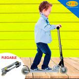 Monopatin Infantil Scooter 2 Ruedas Plegable Metalico