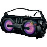 Thunder Sound Parlante Bluetooth 10w X 2 Usb Radio Luz Led