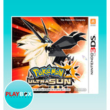 Pokemon Ultra Sun Sol 3ds [digital]