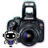 P R O F E S I O N A L Canon T100 T6 + Tripode Maleta 128gb