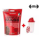 Carnivor Mass 10 Lbs Beef Protein - Reg. Sanitario + Shaker