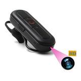 Camara Espía Fhd En Forma De Auricular Bluetooth Micro Sd