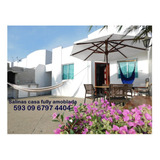 Salinas Feriado $400 Casa Amoblada Playa Alquiler Piscina
