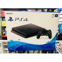 Ps4 Play Station 4 Slim 1tb Nuevas De Paquete