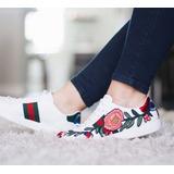 Tenis Zapatos Para Dama Tipo Gucci