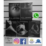 Saga 50 Sombras De Grey De E. L. James 5 Libros Nuevos Ofert