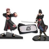 Bandana Banda Naruto + Sasuke + Sasori Figuras Oferta