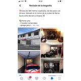 Casa,3 Locales Comerciales, 2 Pisos Más Terraza