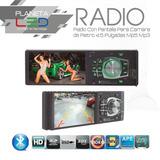 Radio Con Pantalla Para Camara De Retro 4.5 Pulgadas Mp5 Mp3