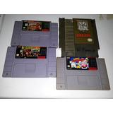 Jiegos De Nintendo Super Nintendo Zelda Mario Kirby