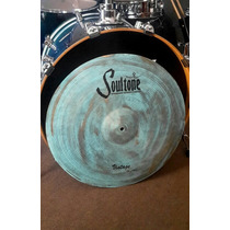 Platillo Soultone Vintage Old School Patina Crash Ride 21