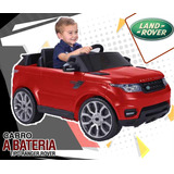Carro A Bateria Ranger Rover  Incluido Iva