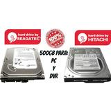 Disco Duro 500gb Sata 3.5, Para Pc, Dvr, Promo 12 +1 Gratis