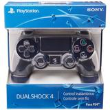 Control Ps4 Dualshock 4 V2 Mando Inalámbrico Color Negro V2