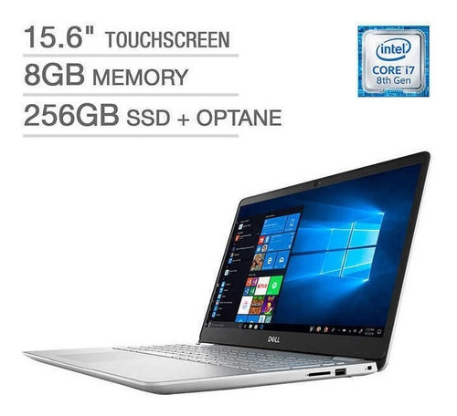 Dell Inspiron I5584-7377 Core I7 256ssd 8gb + 16 Inc Factura