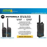 Motorola Rva50 Vhf O Uhf  Incluye Impuestos
