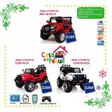Carros A Batería Y Control Remoto Para Niños - Liquidación