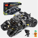 Batimovil Tipo Lego Super Heroes Carro Armable 325pcs