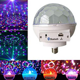 Bola Luces Luz Led Bluetooth Audioritmica Ideal Discoteca Ba