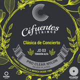 Cuerdas Guitarra Clásica Profesional Tensión Alta Cifuentes