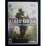 Juego De Nintendo Wii Call Of Duty Original