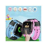 Reloj Smart Watch Niños Gps Camara Remota Chip Juegos Touch