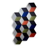 Paneles Acústicos Hexagonales Y Triangulares 3 D