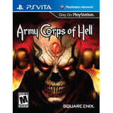 Army Corps Of Hell Psvita Acepto Cambios.
