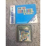 Mario Deluxe Con Manual Gameboy Color