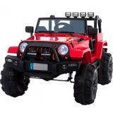 Play Go Carro Bateria Tipo Jeep Todo Terrerno Control Remoto