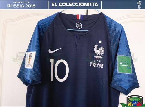 befefe72d02ce Camiseta Selección Francia Mbappe Mundial Rusia Bajo Pedido
