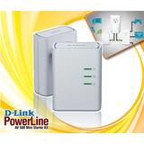 D-link Powerline Av500 Mini Started Kit  Incluido Iva