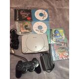 Playstation One 1 Con Juegos Resident Evil Chipeado Ps1