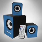Parlantes Para Computadora Subwoofer Radio Fm Bluetooth Usb