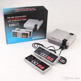 Mini Consola Tipo Nintendo Nes Con 620 Juegos